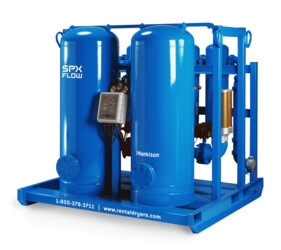 Rental – Desiccant Dryer with Aftercooler & Filter Package